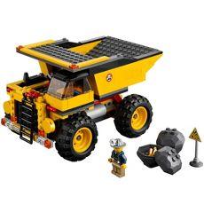 LEGO Mining Truck - getting dirty for fun!
