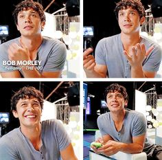 Is it just me or does Bob Morley look like Toby???