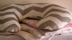 Little Gems// Nursing Pillow Cover from Etsy Shop - The Pink Polka Dot Boutique www.bestofthislife.com