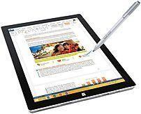 Microsoft 5D3-00017 Surface Pro 3 12.0-inch Tablet PC - Intel Core i7-4650U 1.7 GHz Dual-Core Processor - 8 GB LPDDR3 SDRAM - 256 GB Solid State Drive - Windows 10 Professional 64-bit Edition