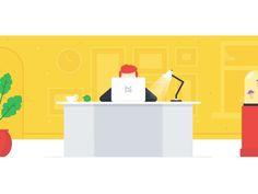 Meddem Landing Page Illustration