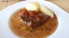 Recept Vepřová kýta na hořčici a rajčatech - Naše Dobroty na každý den Cantaloupe, Fruit, Food, Essen, Meals, Yemek, Eten