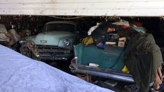 Idaho Barn Finds: 1954 Chevrolet Bel Air - http://barnfinds.com/idaho-barn-finds-1954-chevrolet-bel-air/