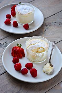 blissful eats with tina jeffers: Meyer lemon pudding cakes