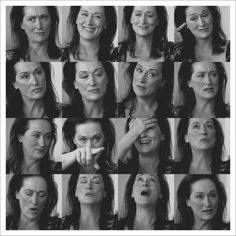 - Meryl Streep, Oh I just love that woman!