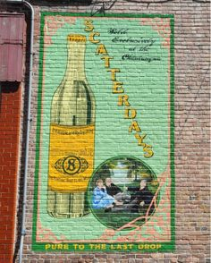 Scatterday Ginger Ale Mural