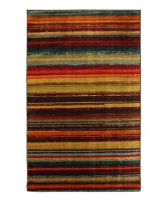 Love this Boho Stripe Rug by Mohawk Home on #zulily! #zulilyfinds