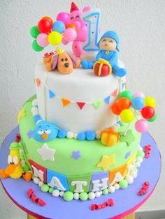 bolo pocoyo baby