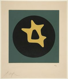 Jean Arp, Untitled, ca. 1922 (?), Yale University Art Gallery