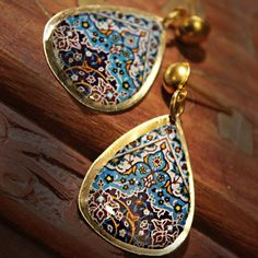 Persian carpet pattern jewellery