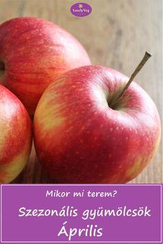 Mikor mi terem? Szezonális gyümölcsök: Április Grapefruit, Apple, Food, Apple Fruit, Essen, Meals, Yemek, Apples, Eten