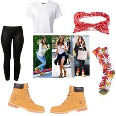 Timberland Fashion (Khloe Kardashian) by bossmarsha on Polyvore featuring Proenza Schouler, adidas and Timberland