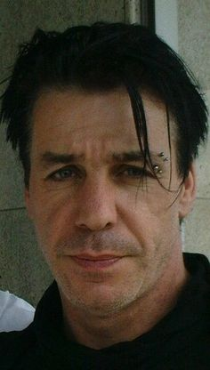 Till Lindemann - that look! Should this be on the Rammstien Obsession or the Sarcasm board?