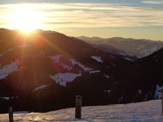 #Sonnenuntergang #Gabühl #Hochkönig #Stimmungsbild #Vital Hotel Post Vital Hotel, Poster, Mountains, Nature, Travel, S Pic, Sunset, Naturaleza, Viajes