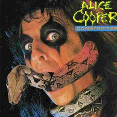 "Alice Cooper - LP -  ""Constrictor"" - 1986"