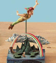 jim shore peter pan | Enesco Jim Shore - Peter Pan (Flying) | Shop music, entertainment ...