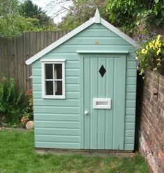 Beautiful Shed Makeover   Cute!