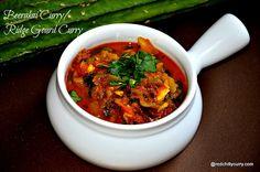 beerakaya koora or beerakaya curry is an aunthetic recipe from andhra pradesh. Beerakaya pulusu is also another name for this.Andhra recipes are very tasty one.