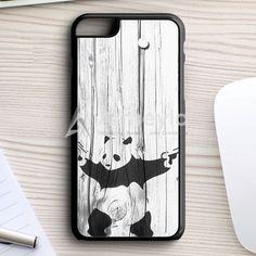 Banksy Graffiti Panda iPhone 7 Plus Case | armeyla.com