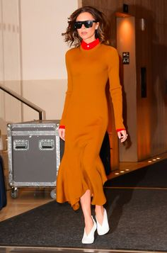 Victoria Beckham's Been Trying to Get You to Check Out Her Shoes Pinterest: KarinaCamerino