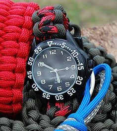 Easy tutorial shows you how to make a DIY paracord watchband. This DIY project teaches you how to make a durable and stylish paracord band for your watch.
