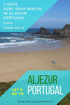 7 DAYS SURF RENTAL IN ALJEZUR   PORTUGAL what is included: ~ 7 days of full & quality surf equipment rental   board & wetsuit #aljezur #surf #gear #rental #surfboard #wetsuit #travel & #enjoy #surfing #in #portugal #westcoast #with #portugalsurftrip Portugal Holidays, Surf Gear, Surf Trip, Portugal Travel, Yoga Retreat, Where To Go, Surfboard, Wetsuit, Have Fun