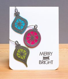 Neat + Tangled Merry and Bright by stripey fish (Jean M), via Flickr