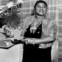 June 10th  Born Today 1895: The first African American to win an Oscar, Hattie McDaniel. She won the award for Best Supporting Actress for her role of Mammy in Gone with the Wind.
