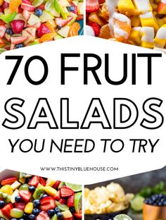 Vegetable Salad Recipes, Fruit Salad Recipes, Appetizer Recipes, Appetizers, Food Salad, Fruit Salads, Fruit Salad Yummy Yummy, Cooking Recipes, Healthy Recipes