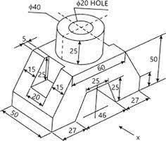 46 Best Orthographic projection machine drawing images