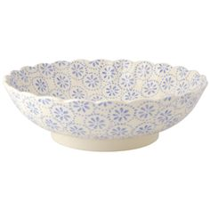 Lavender Daisy & Spot Fluted #Bowl https://www.emmabridgewater.co.uk/invt/1lav011355