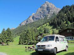 Kandersteg, al pes suizos