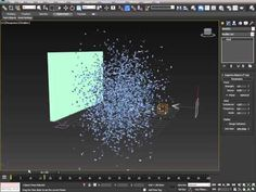 Text to Particles in 3Ds Max PArray - YouTube