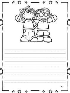 Soy escritror soy escritora (16) Notebook Cover Design, Notebook Covers, Coloring Books, Coloring Pages, Colouring, School Border, Kindergarten Portfolio, Frame Layout, Turkish School