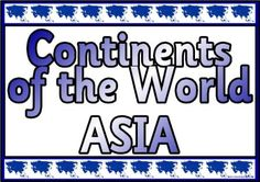 Geography Resources - Teaching about Africa. Worksheets, colouring pages and posters for Asia, China, Nepal, India and other Asia topics.