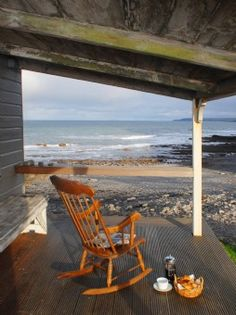 Self-catering Beach Hut in Cornwall