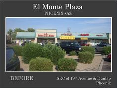 El Monte Plaza, Phoenix AZ  Before Renovation by Michael A Pollack, Pollack Investments www.pollackinvestments.com