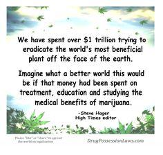 High Times Cannabis Legalize Drug War