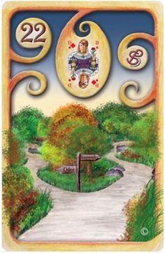Baralho Cigano – O Caminho - Carta 22 - Linha das Águas