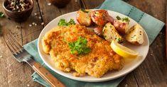 Recette de Escalope de poulet façon viennoise. Facile et rapide à réaliser, goûteuse et diététique. Ingrédients, préparation et recettes associées.