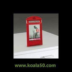 Portafotos Cabina Británica - 2,15 €   El portafotos Cabina Británica es perfecto para darle un toque moderno a la decoración de tu casa. Este original marco de fotos está fabricado de vidrio y dispone de espacio para una fotode...  http://www.koala50.com/marcos-de-fotos-originales/portafotos-cabina-britanica-