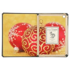 $$$ This is great for          	Christmas Shiny Glitter Ornaments Red Gold iPad Air Cases           	Christmas Shiny Glitter Ornaments Red Gold iPad Air Cases We have the best promotion for you and if you are interested in the related item or need more information reviews from the x customer who...Cleck Hot Deals >>> http://www.zazzle.com/christmas_shiny_glitter_ornaments_red_gold_case-256887407181160752?rf=238627982471231924&zbar=1&tc=terrest