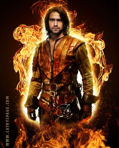 D'Artagnan of #TheMusketeers - graphics by me (cathelms).