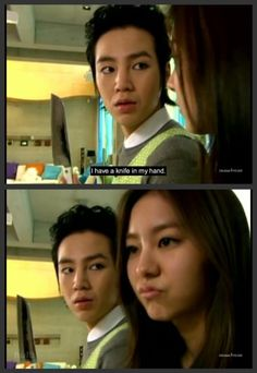 HAHAHA Love this KDrama! One of my favorites!  #You'reBeautiful