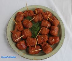 Carole's Chatter: Cider Braised Chorizo Chorizo, Apple Cider, Finger Foods, Sausage, Ethnic Recipes, Quotations, Finger Food, Sausages, Quotes