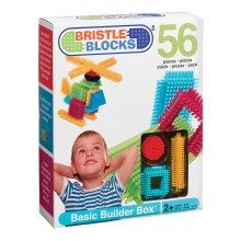 Early Development Toys : 56 piece Basic Builder Box of Bristle Bricks Buy Toys, Toys R Us, Kids Toys, Children's Toys, Preschool Block Area, Games For Grade 1, Brick Detail, Block Play, Developmental Toys