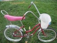I had a Huffy Bike with a basket