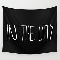 In The City Wall Tapestry by julieart