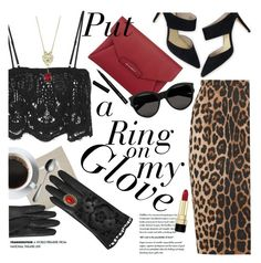 """""""Ring on My Glove"""" by ivansyd ❤ liked on Polyvore featuring Kim Seybert, Boden, Altuzarra, Bobbi Brown Cosmetics, Dolce&Gabbana, Miguelina, Dorothy Perkins, Givenchy, Yves Saint Laurent and Georg Jensen"""