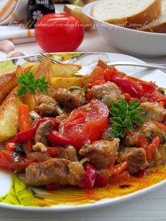 Удивительно вкусное и ароматное мяско!!! Кто еще не пробовал, тот обязательно должен приготовить и сполна насладится им!!! В Абхазии ...